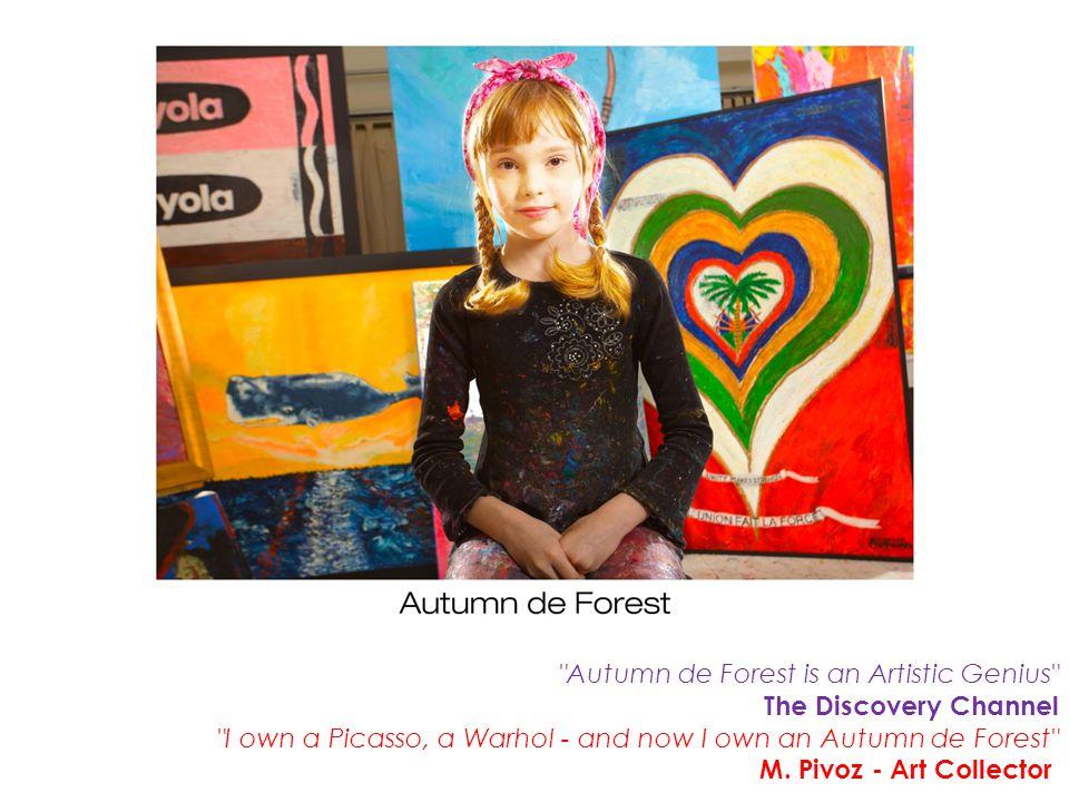 Autumn de Forest is an Artistic Genius