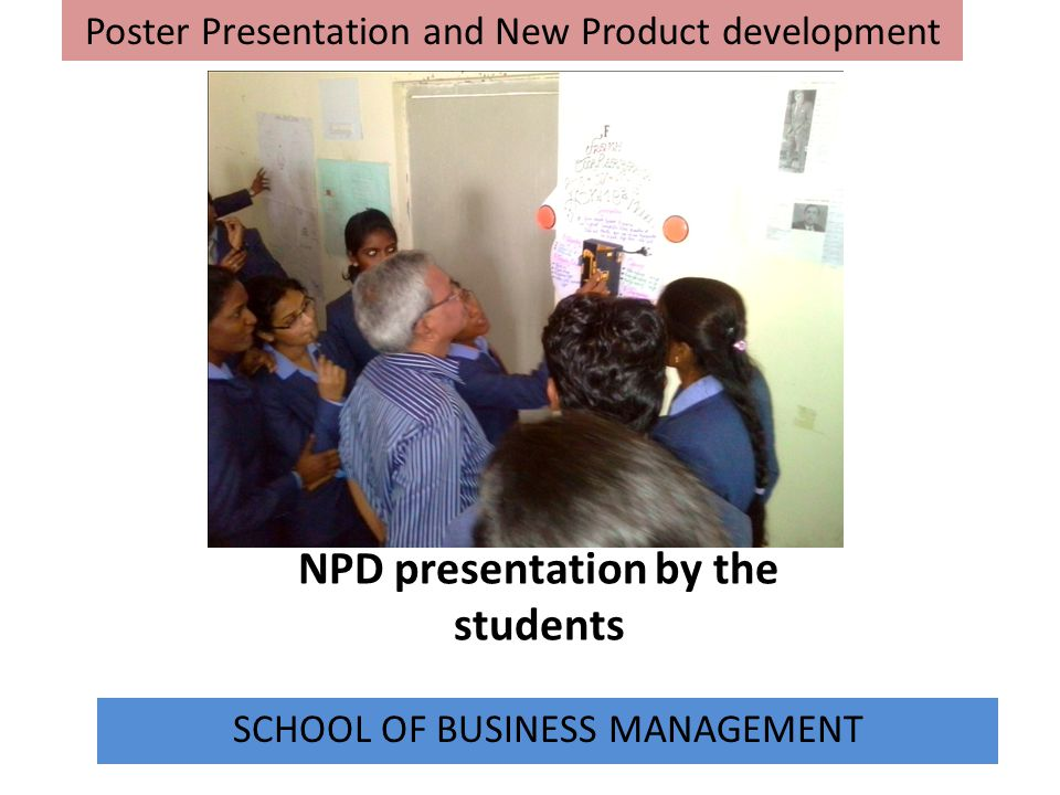 NPD presentation by the students