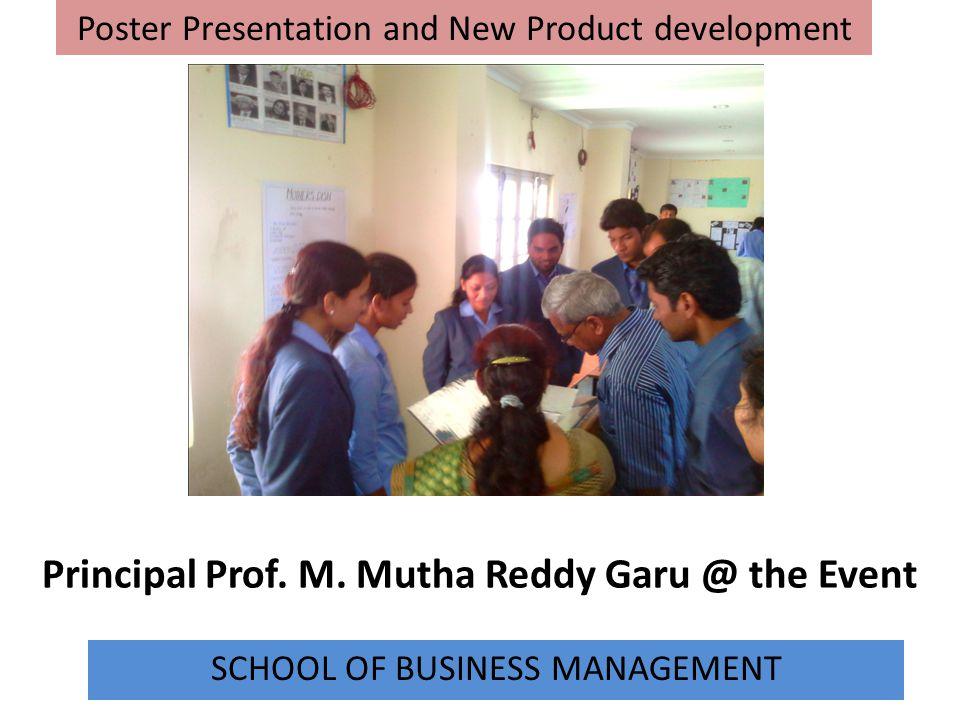 Principal Prof. M. Mutha Reddy Garu @ the Event