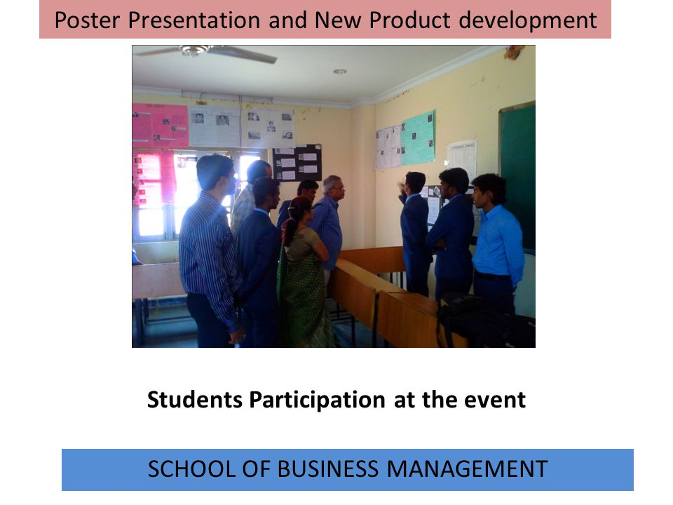 Students Participation at the event