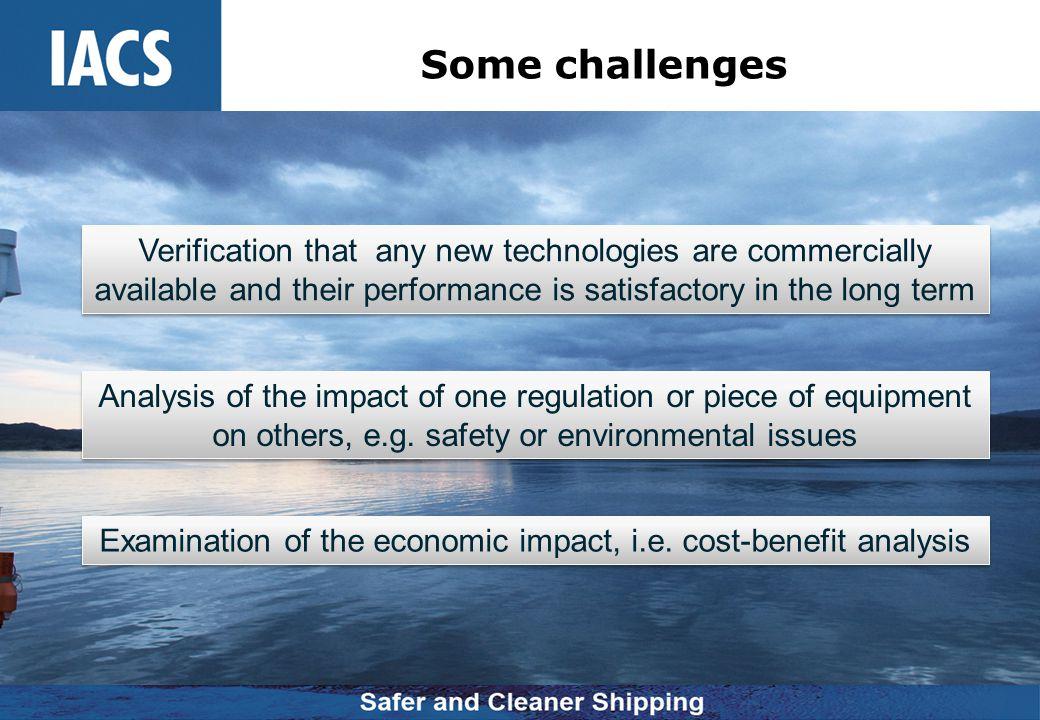 Examination of the economic impact, i.e. cost-benefit analysis