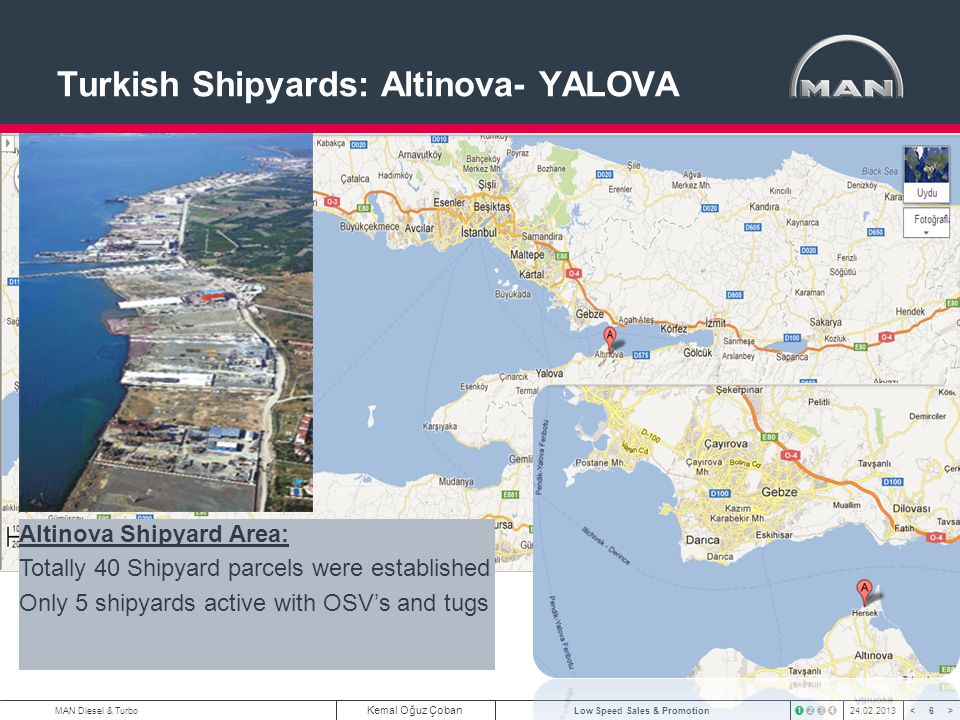 Turkish Shipyards: Altinova- YALOVA