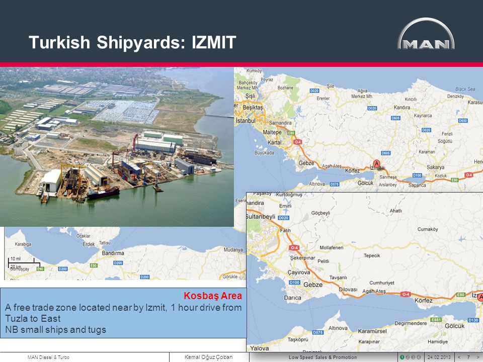 Turkish Shipyards: IZMIT