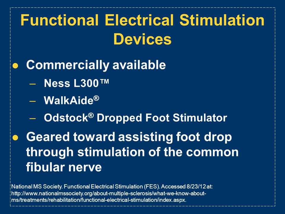 Functional Electrical Stimulation Devices