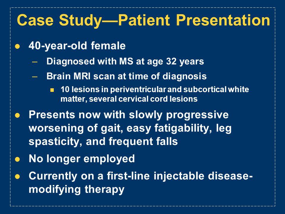Case Study—Patient Presentation