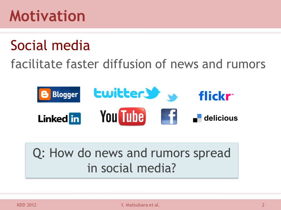 Q: How do news and rumors spread in social media