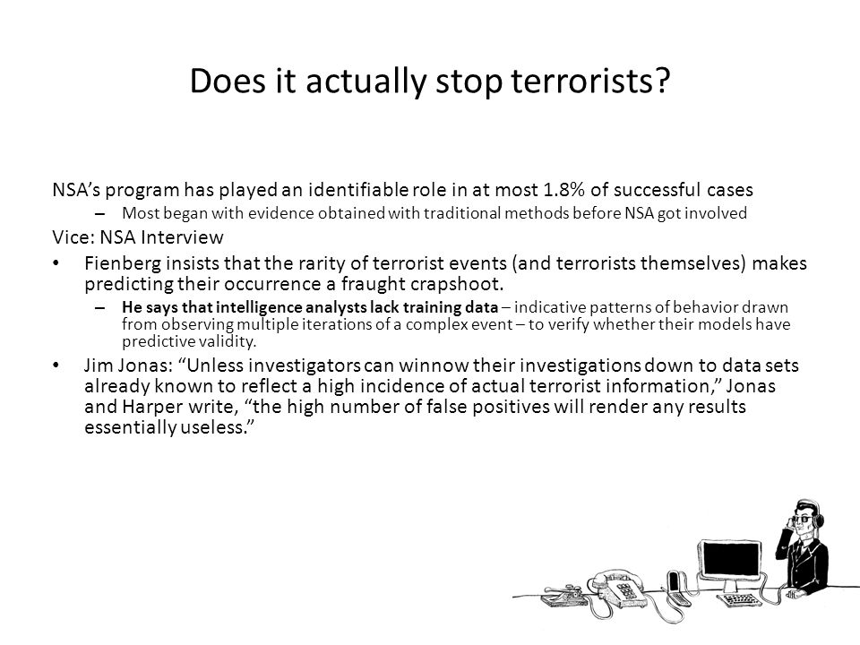 Does it actually stop terrorists