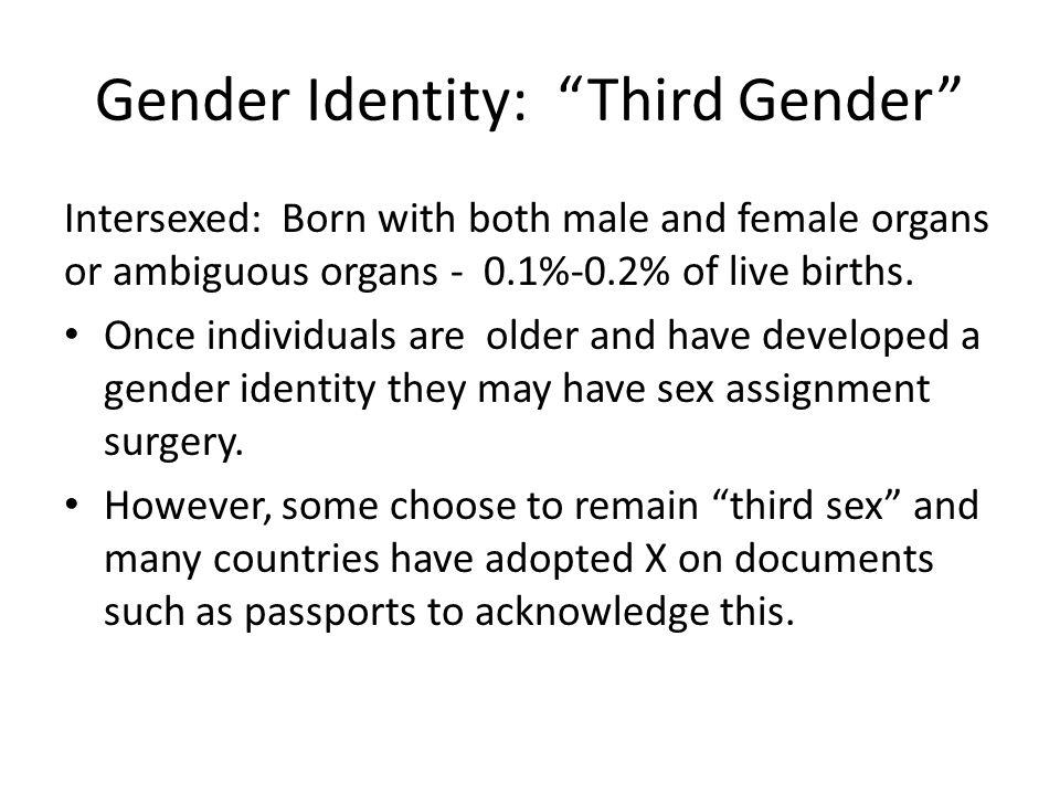 Gender Identity: Third Gender