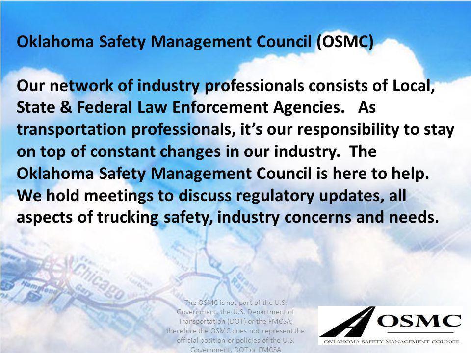 Oklahoma Safety Management Council (OSMC)
