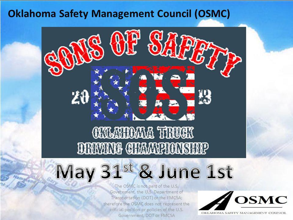 May 31st & June 1st Oklahoma Safety Management Council (OSMC)