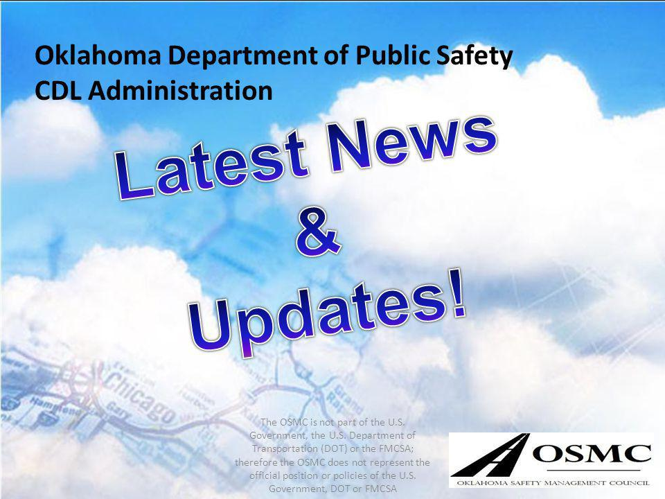 Latest News & Updates! Oklahoma Department of Public Safety