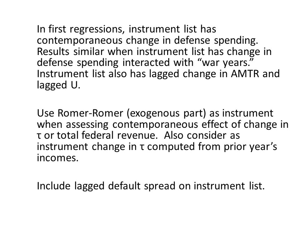 Include lagged default spread on instrument list.