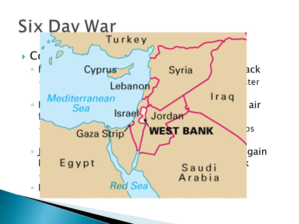 Six Day War Course of the War