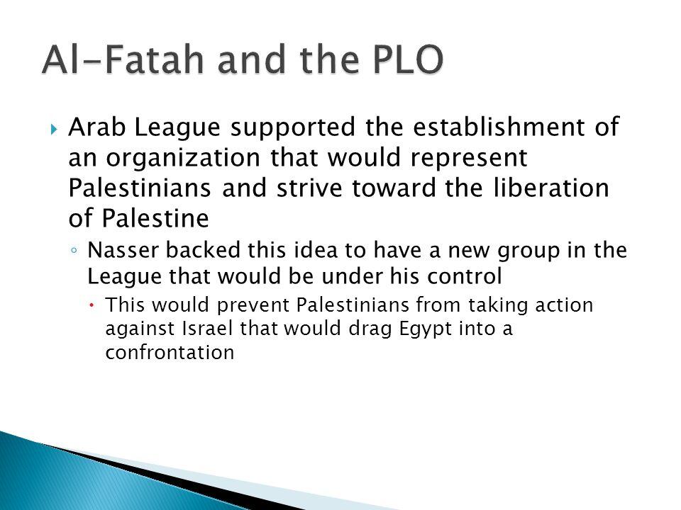 Al-Fatah and the PLO