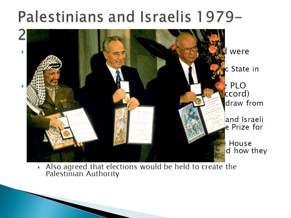Palestinians and Israelis 1979-2009