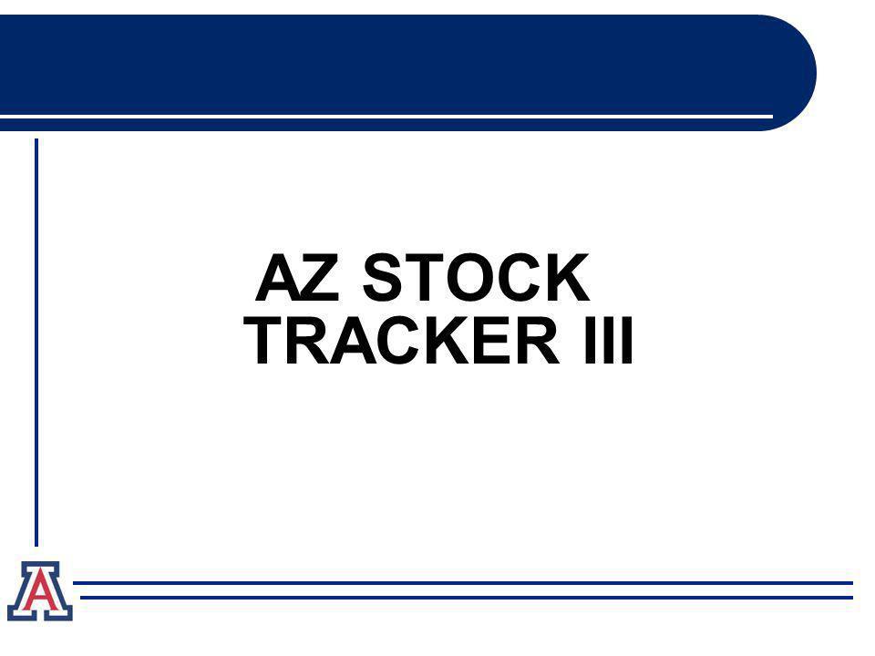 AZ STOCK TRACKER III