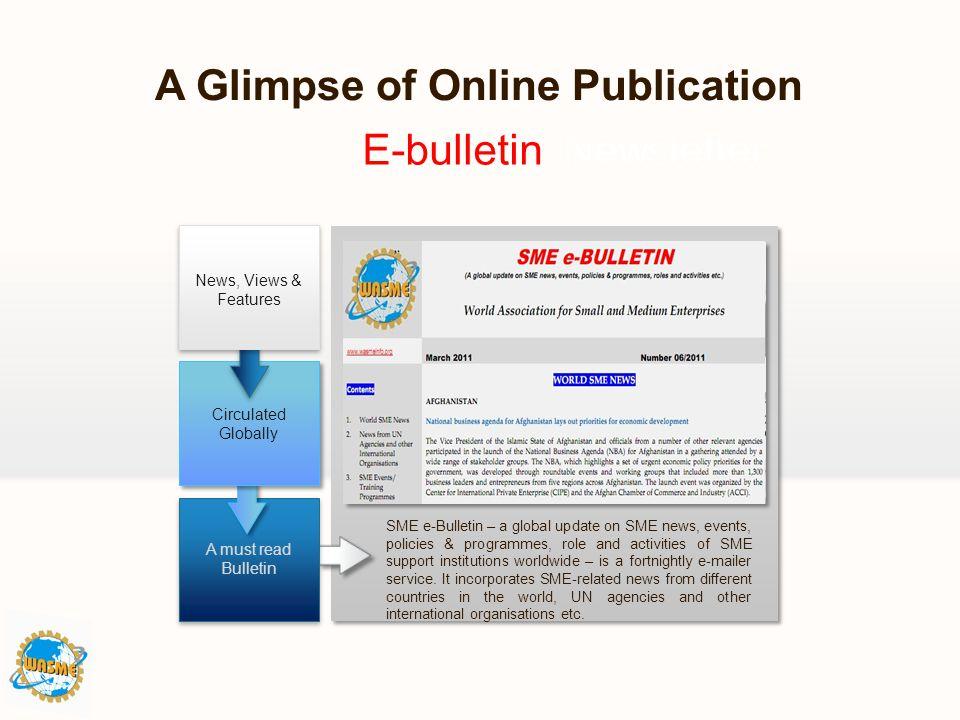 A Glimpse of Online Publication