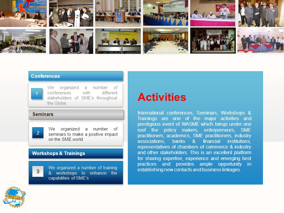 Activities Conferences 1