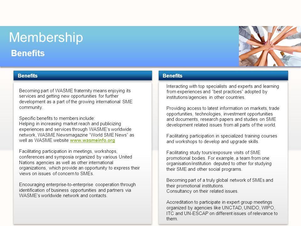 Membership Benefits text Benefits Benefits
