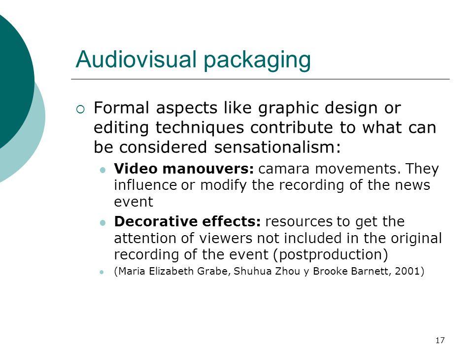 Audiovisual packaging