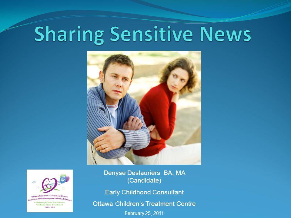 Sharing Sensitive News