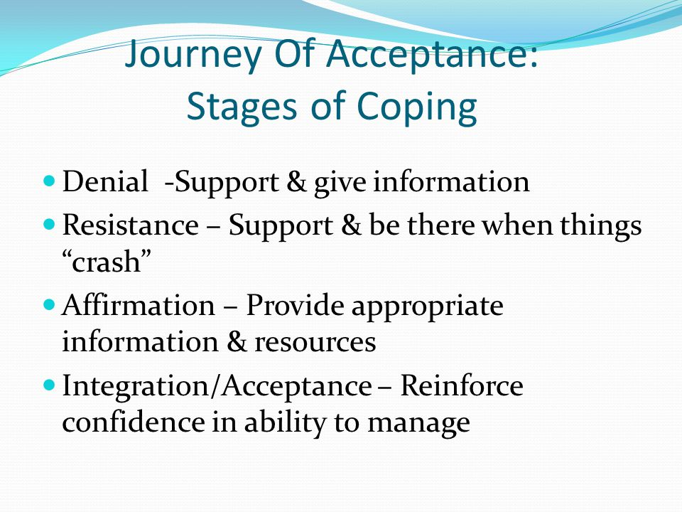 Journey Of Acceptance: Stages of Coping