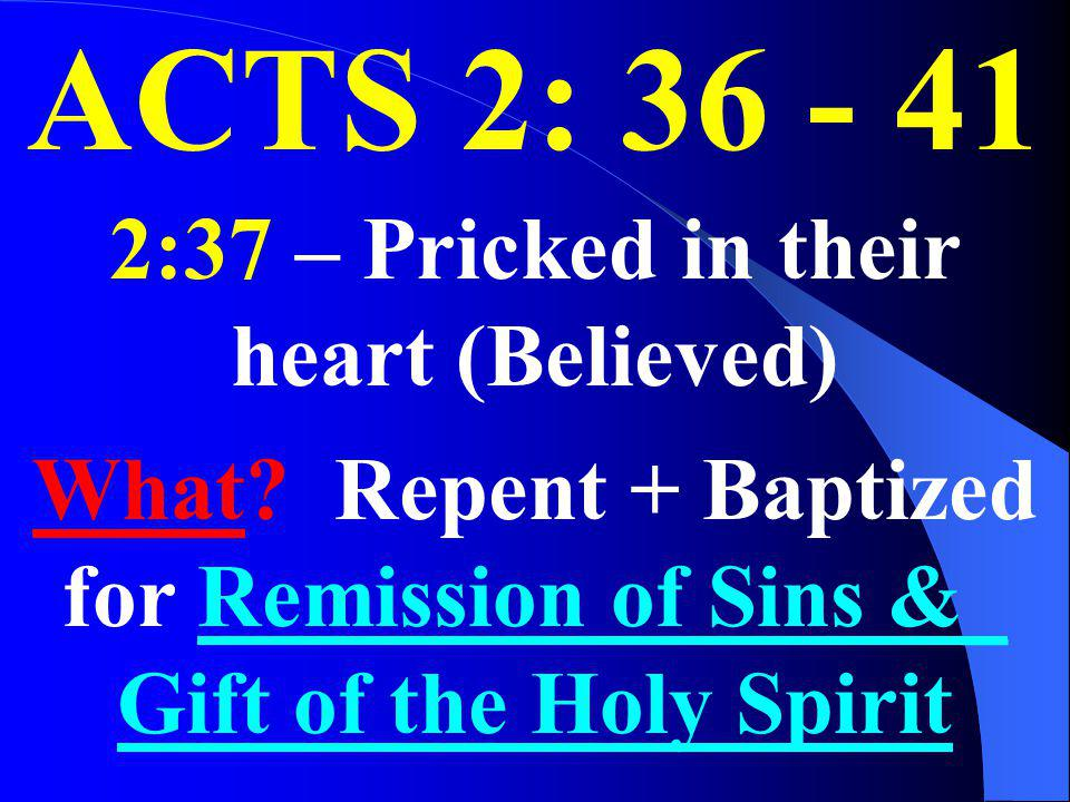 2:37 – Pricked in their heart (Believed)