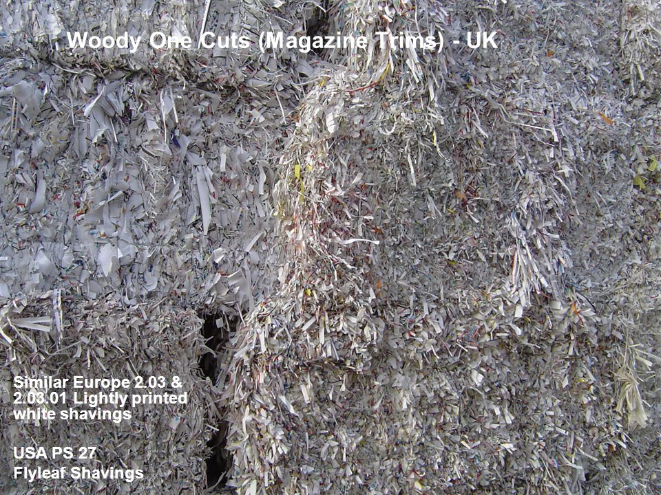 Woody One Cuts (Magazine Trims) - UK