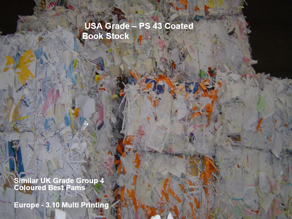 USA Grade – PS 43 Coated Book Stock
