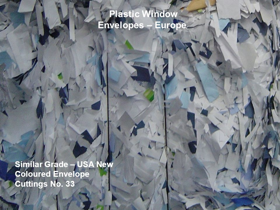 Plastic Window Envelopes – Europe