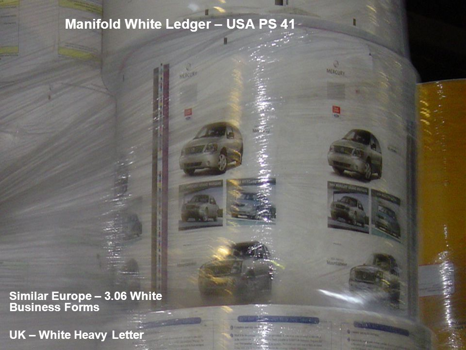 Manifold White Ledger – USA PS 41