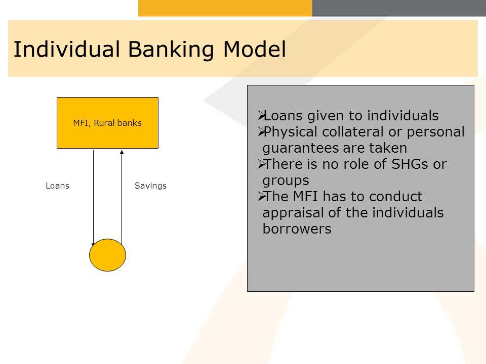 Individual Banking Model