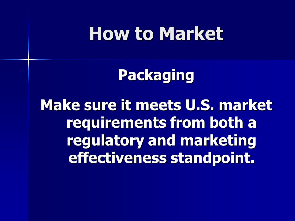 How to Market Packaging