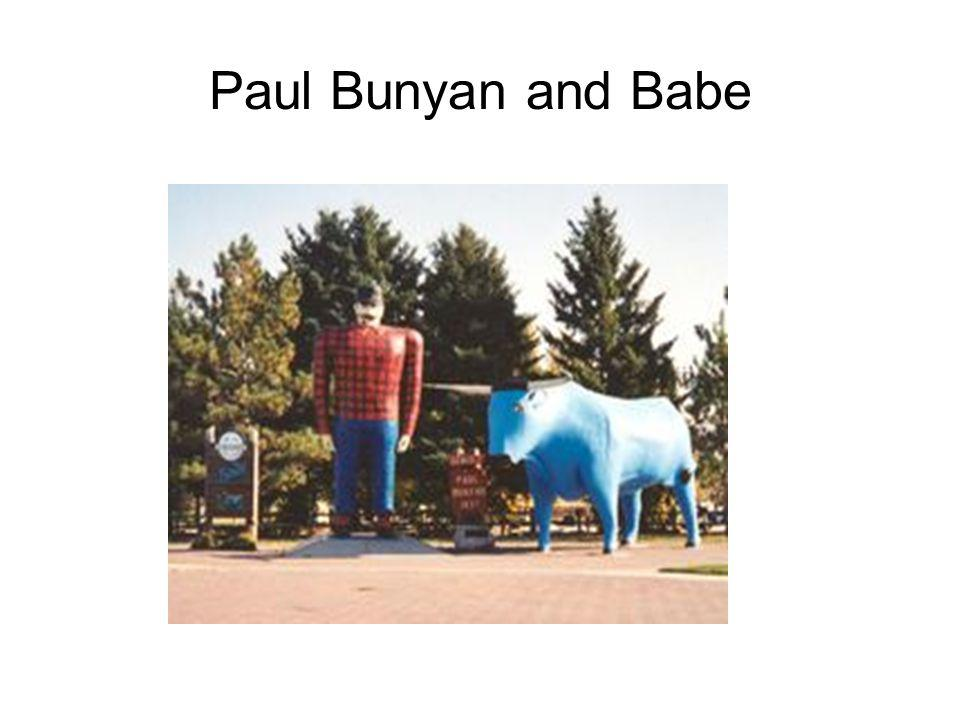 Paul Bunyan and Babe