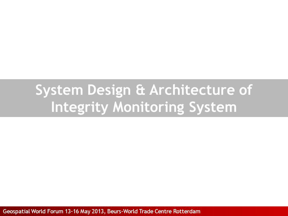System Design & Architecture of Integrity Monitoring System