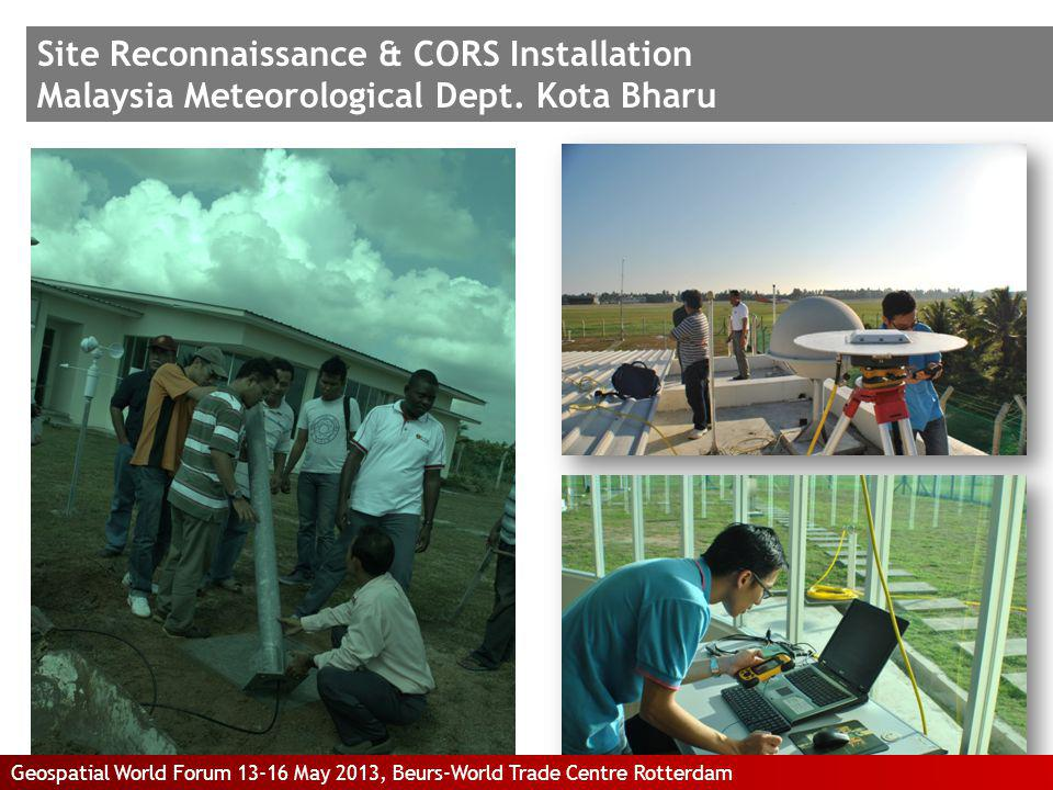 Site Reconnaissance & CORS Installation