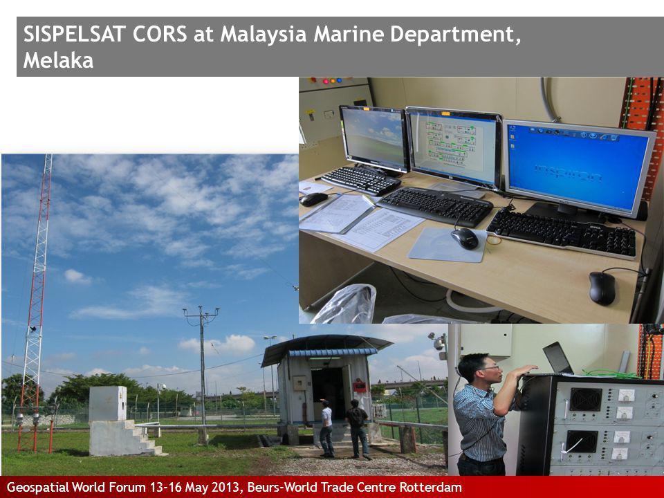 SISPELSAT CORS at Malaysia Marine Department, Melaka