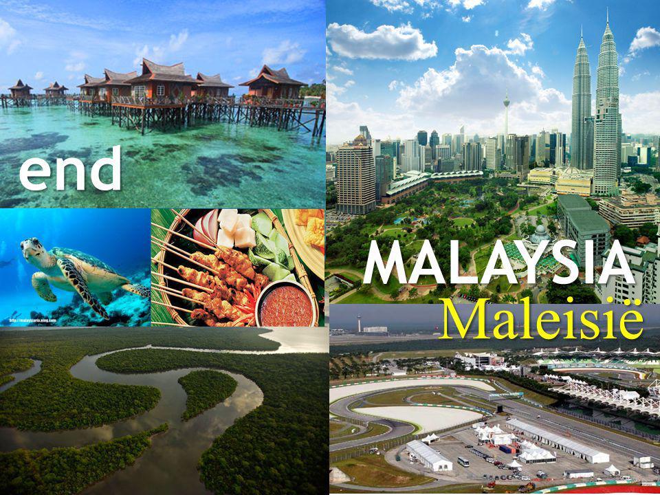 end MALAYSIA Maleisië