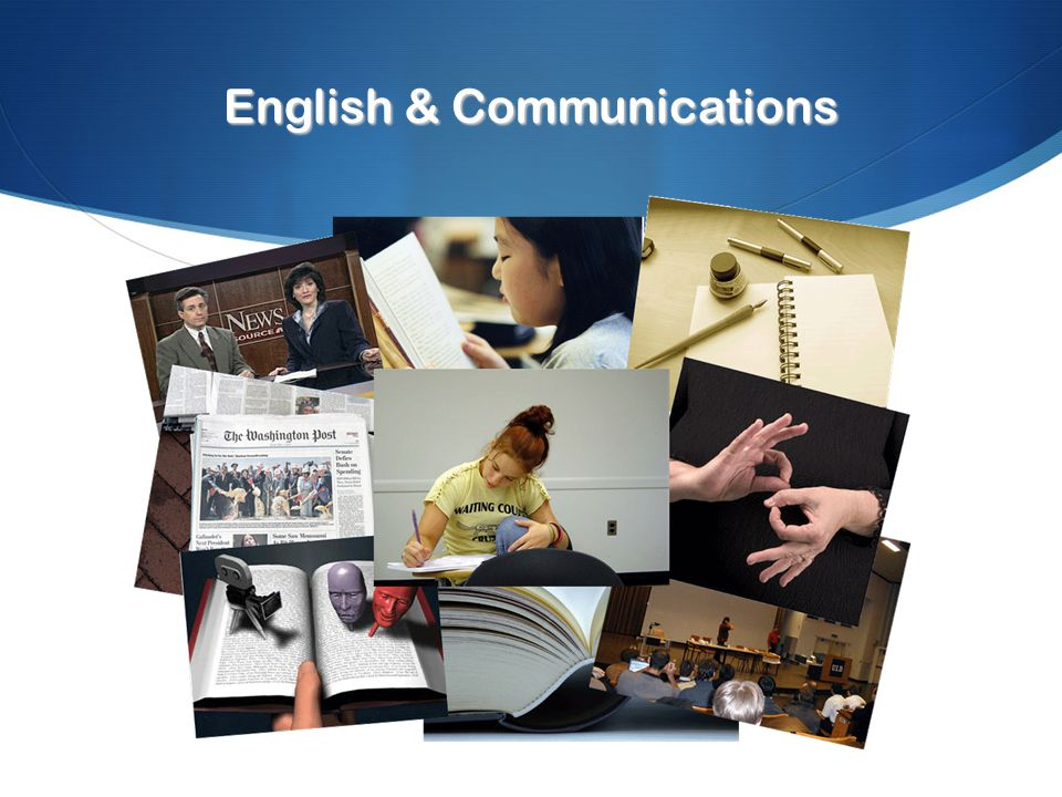 English & Communications