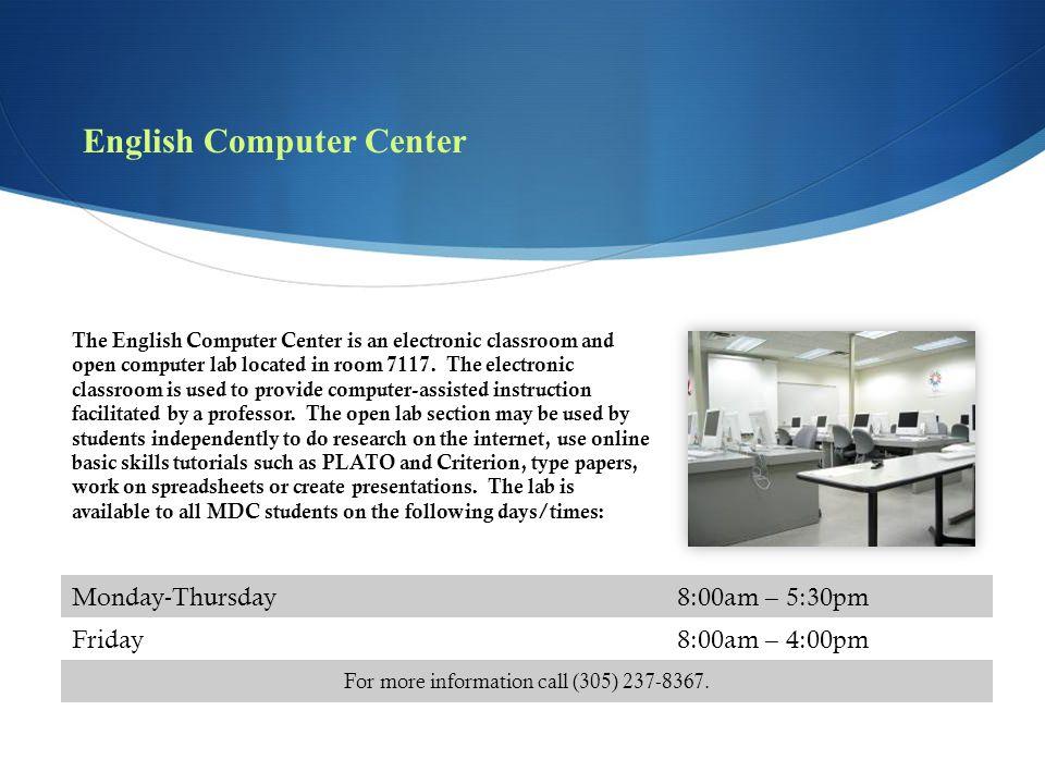English Computer Center