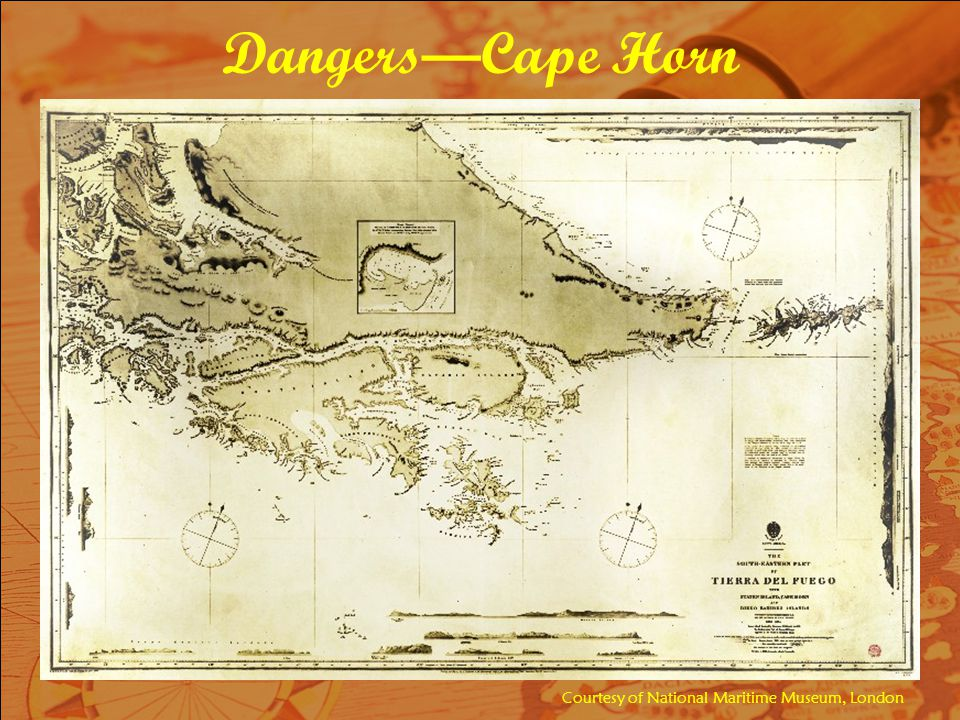 Dangers—Cape Horn Courtesy of National Maritime Museum, London
