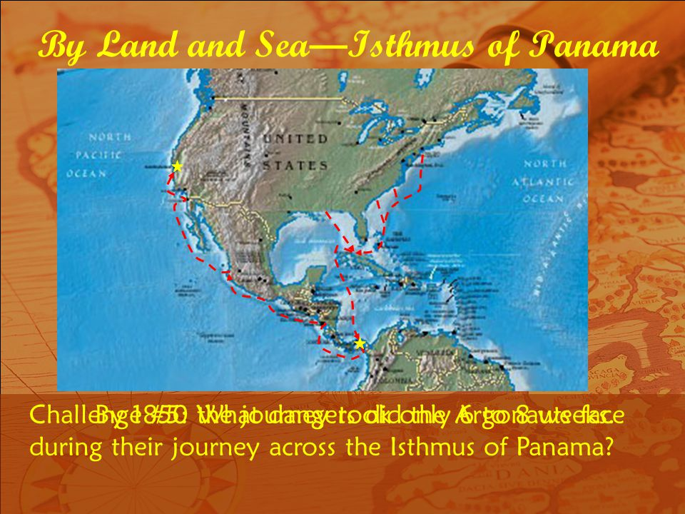By Land and Sea—Isthmus of Panama