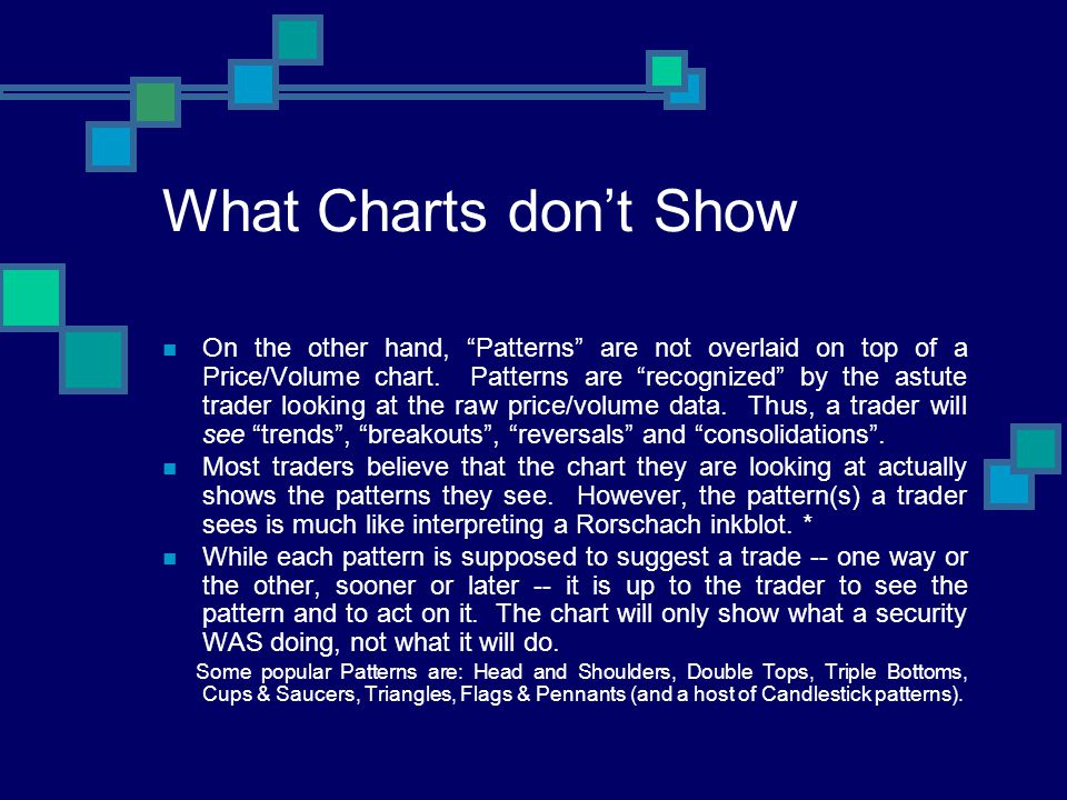 What Charts don't Show