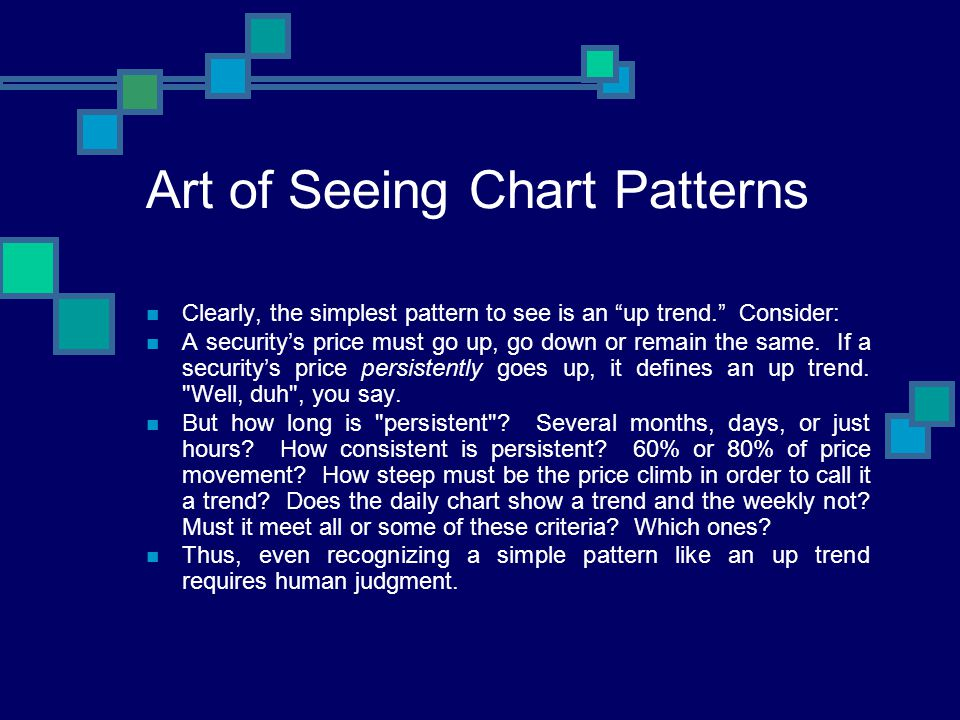 Art of Seeing Chart Patterns
