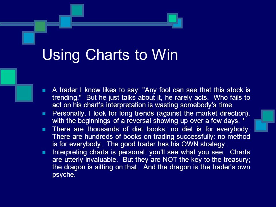 Using Charts to Win