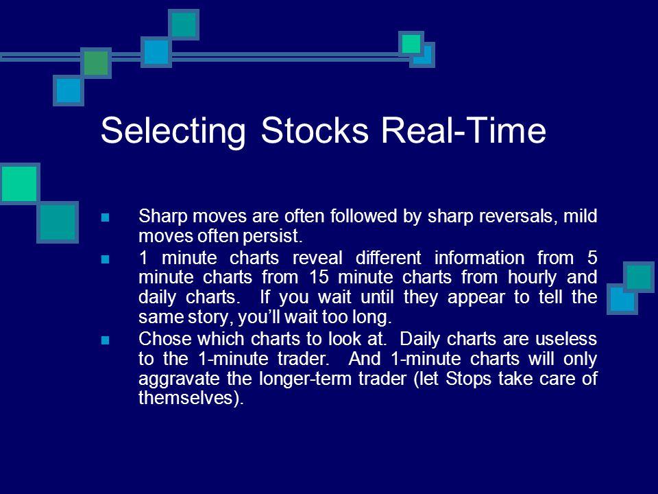 Selecting Stocks Real-Time