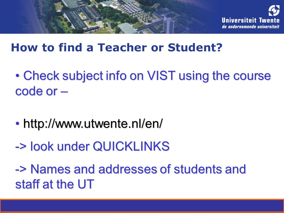 How to find a Teacher or Student