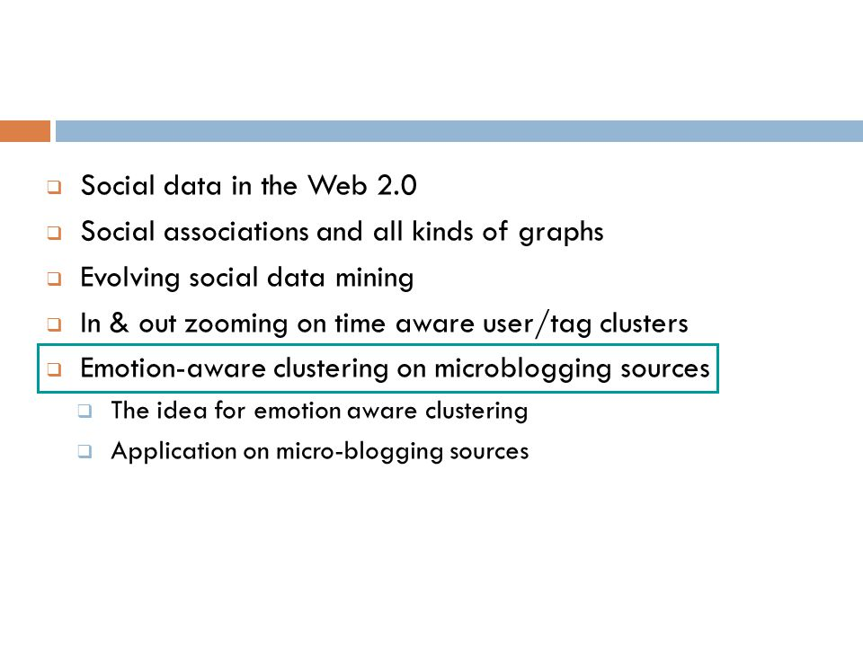 Social associations and all kinds of graphs