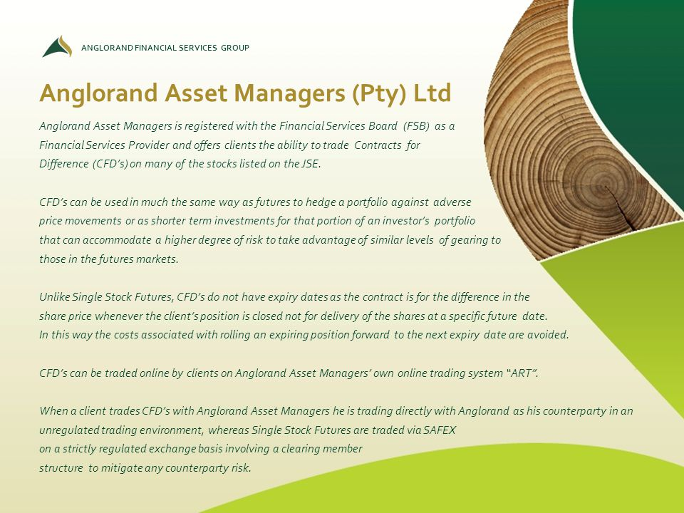 Anglorand Asset Managers (Pty) Ltd
