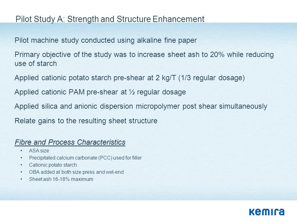 Pilot Study A: Strength and Structure Enhancement